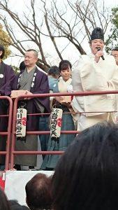 富岡八幡豆まきNO2